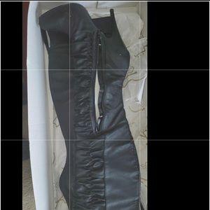 Carlos Santana Over the Knee Boots Size 9.5